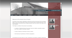 Preview of detroitchurches.history.msu.edu
